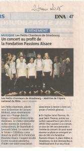 article concert des petits chanteurs