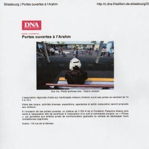 DNA 03 juin - Arahm de Strasbourg