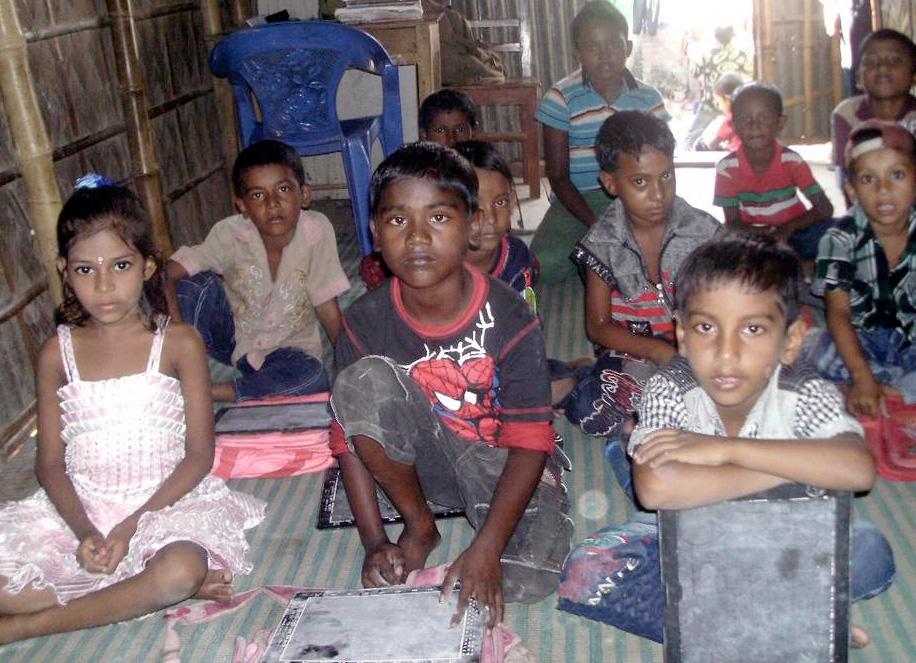 Salle de classe de Dhaka