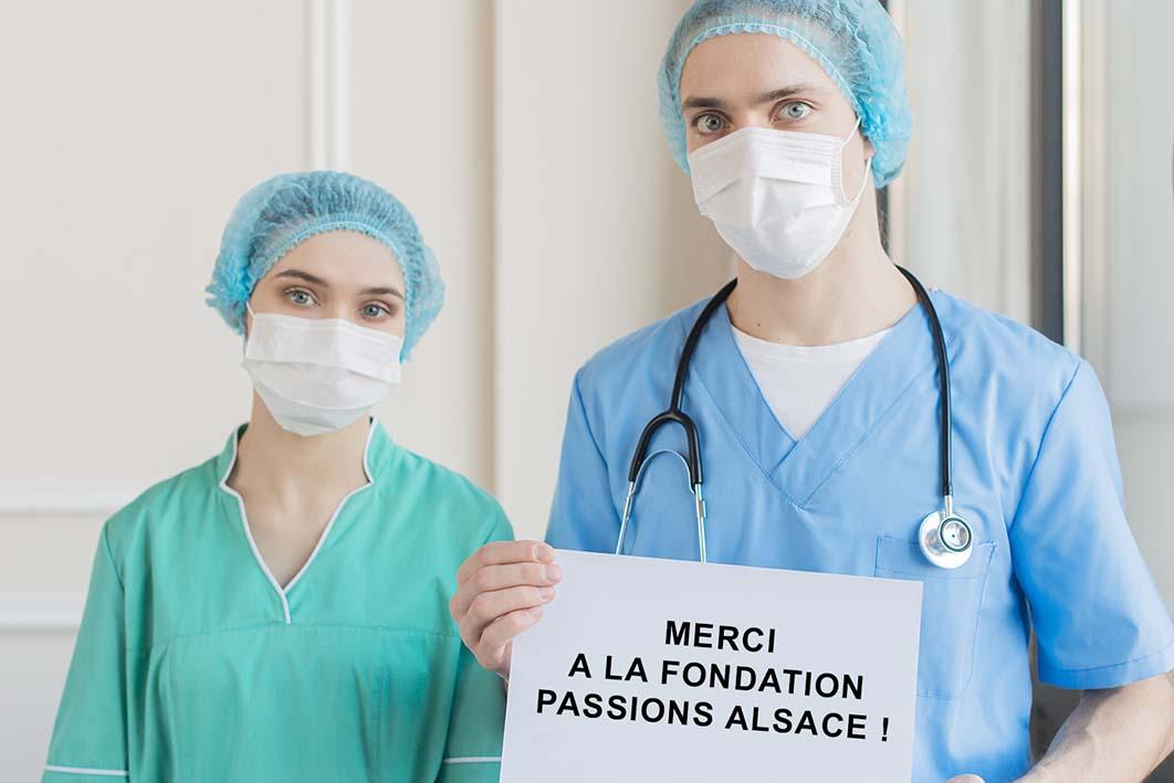 Personnels soignants alsacien
